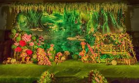 浪漫花园婚礼《花都开好了》