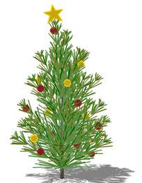 圣诞树su模型