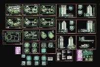 五星级酒店建筑施工图