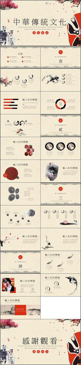 中华传统文化课件PPT模板