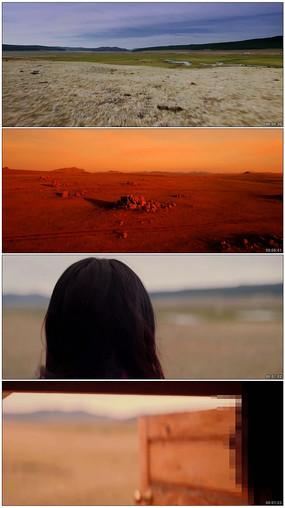 内蒙古大草原壮丽风景形象片
