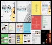 音乐会吉它艺术节指南画册