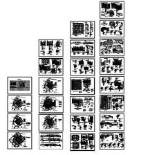 旱喷广场园林景观工程施工图