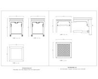 明清方杌CAD样式图