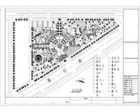 三角街头公园平面图