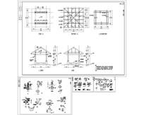 三角亭子施工图