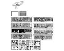 铜川广场景观工程竣工图 CAD