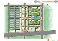 城市广场总平面图