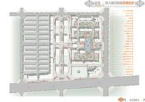 城市广场总平面图索引图景点