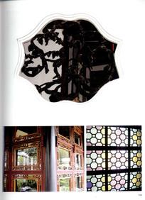 古建花型窗户细节