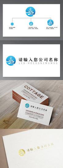 净水行业企业logo AI