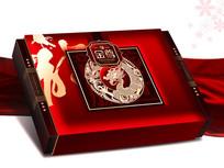 金尊平面分层月饼盒 PSD