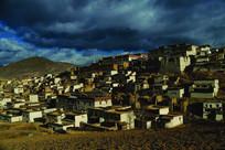 西藏矮房样貌