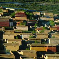 西藏建筑鸟瞰