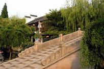 周庄拱形桥阶梯