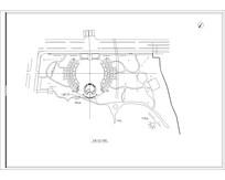 关莲花湖公园音响布置平面图