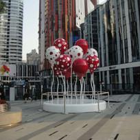 气球场景雕塑小品