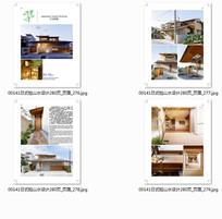 现代时尚日式建筑庭院