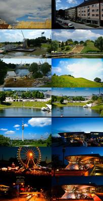 国外城市旅游景点  mov