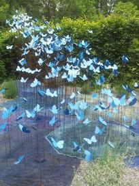 蝴蝶室外景观装置 JPG