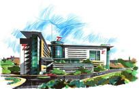 建筑手绘表现 JPG