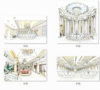 酒店室内设计表现