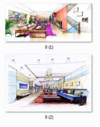 客厅设计效果图表现