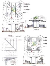 凉亭结构分析图
