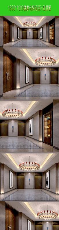 前厅设计方案效果图 JPG