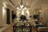 优雅客厅装修布置