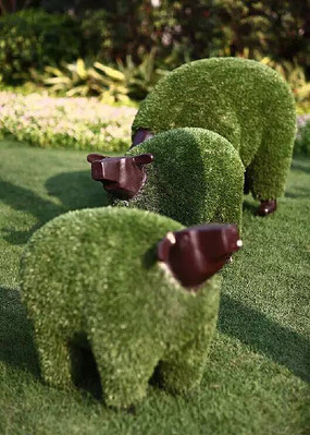 植物装饰动物雕塑小品