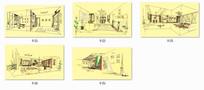 住宅室内设计线稿