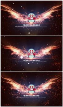 火凤凰logo视频模版