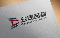 简约国际化科技公司logo