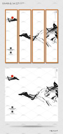 简约意境中国风创意海报设计