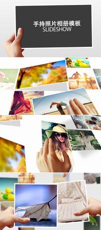 三维空间100张相片展示模板
