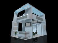 二层展厅模型