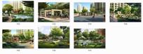 高档住宅景观设计效果图
