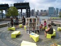 公共空间休息坐凳
