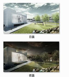 景观建筑效果图