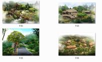 旅游度假村景观 JPG