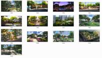 漫欧式风情住宅花园景观 JPG