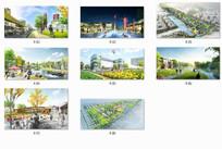 梦想小镇规划设计概念效果 JPG