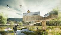湿地景观效果图
