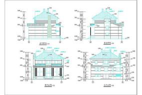 现代建筑图纸