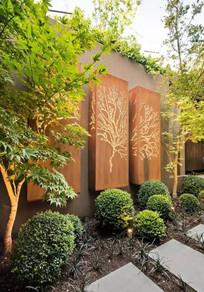 现代景墙设计意向
