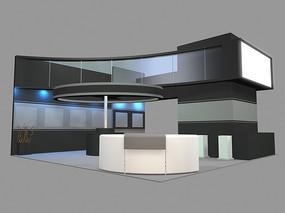 小展览厅 max