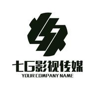 影视传媒7G组合LOGO商标
