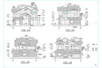 中西独院别墅图纸