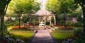 住宅区庭院景观